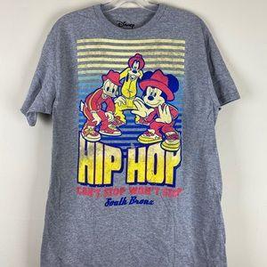 NWOT Retro Disney Hip Hop Graphic Unisex T-Shirt